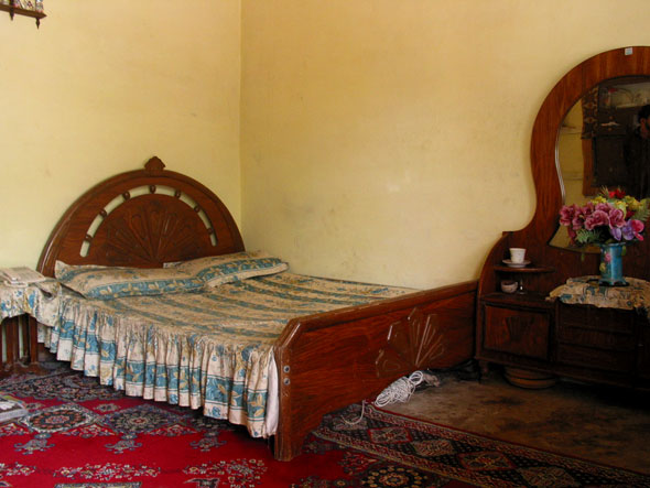 the luxurious double room madyan guesthouse swat nwfp pakistan