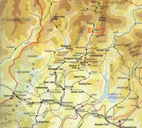 Map of Swat